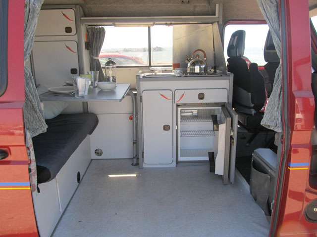 Vw T3 Campers Rental And Hire Malaga Spain